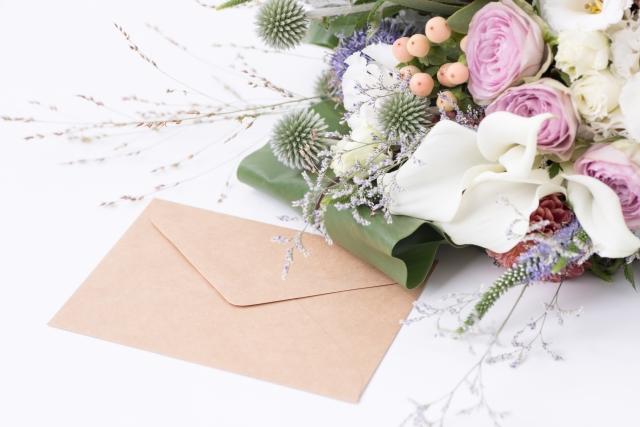 メールと花