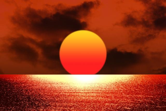 失恋 赤い太陽