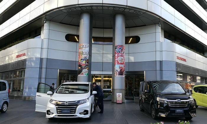 本田技研工業 本社 青山ビル 正面玄関