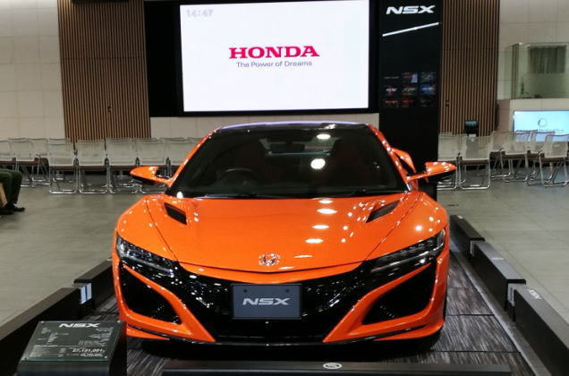 Hondaウエルカムプラザ青山 NSX