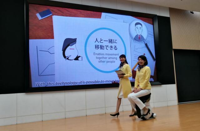 Honda UNI-CUB デモンストレーション