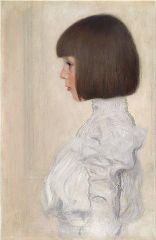クリムト ヘレーネ・クリムトの肖像