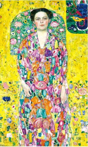 クリムト オイゲニア・プリマフェージの肖像