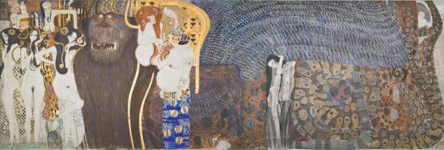 クリムト壁画 ベートーヴェン・フリーズ