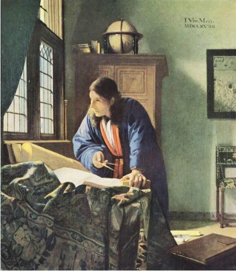 フェルメール 地理学者