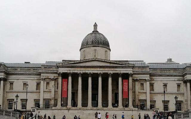 イギリス ロンドン ナショナルギャラリー