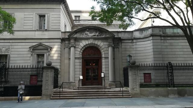 アメリカ ニューヨーク フリックコレクション美術館