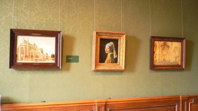 マウリッツハイス美術館 真珠の耳飾りの少女