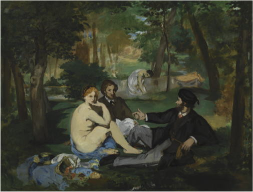 草上の昼食 エドゥアール・マネ