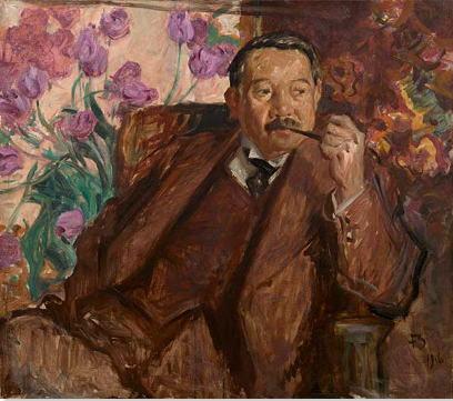 フランク・ブラングィン 松方幸次郎の肖像