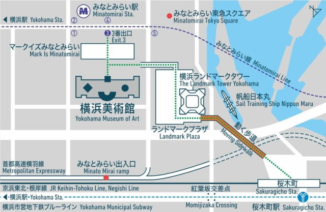 横浜美術館 アクセス