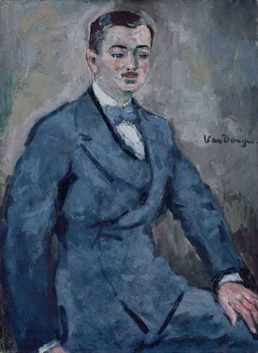 キース・ヴァン・ドンゲン ポール・ギョームの肖像