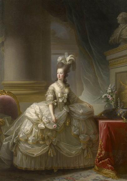 フランス王妃マリー・アントワネットの肖像