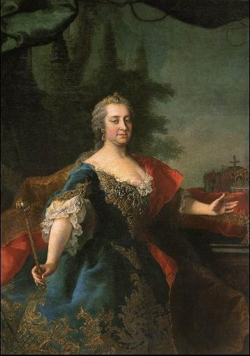 マリア・テレジアの肖像