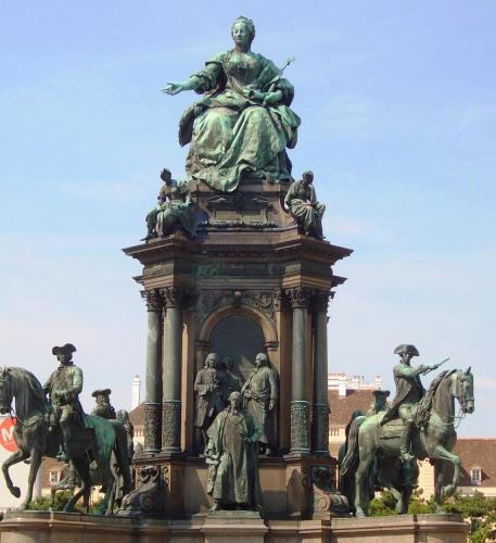 マリア・テレジア像