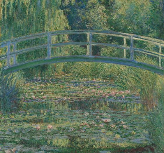 クロード・モネ 睡蓮の池