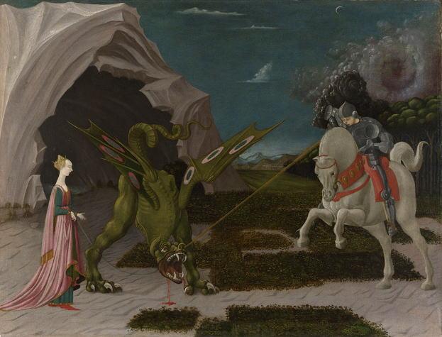 ウッチェロ 聖ゲオルギウスと竜