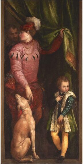 パオロ・ヴェロネーゼ 少年と騎士見習い