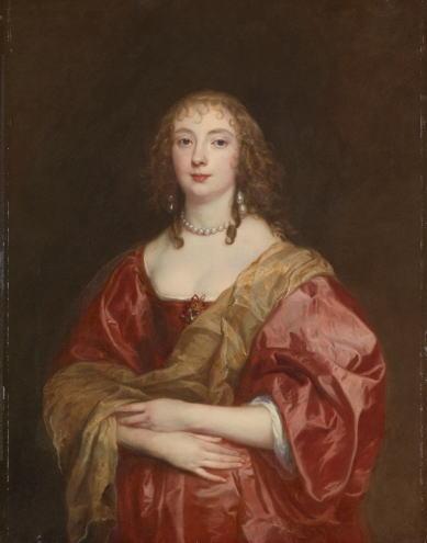 アントニー・ヴァン・ダイク ベッドフォード伯爵夫人の肖像