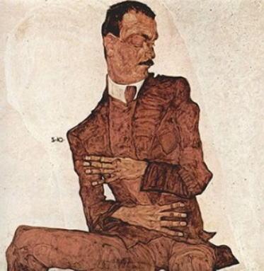 イーダ・レスラーの肖像 エゴン・シーレ