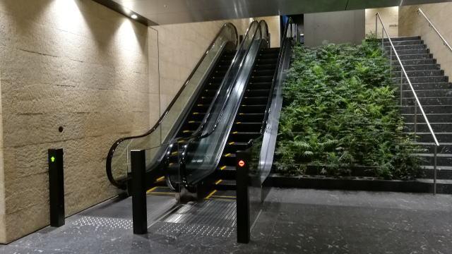 京阪渡辺橋駅から国立国際美術館