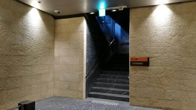 京阪渡辺橋駅から国立国際美術館 2番出口