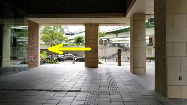 京阪渡辺橋駅2番出口