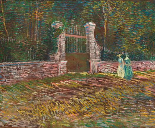 アニエールのボワイエ・ダルジャンソン公園の入り口
