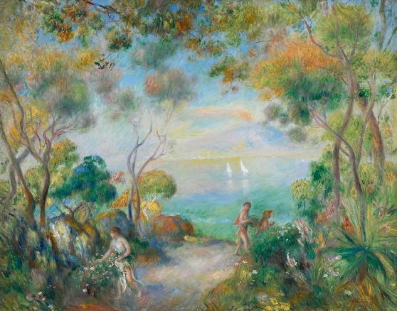 ソレントの庭 ピエール=オーギュスト・ルノワール