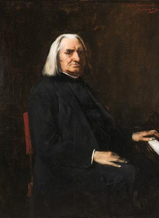 ムンカーチ・ミハーイ「フランツ・リストの肖像」