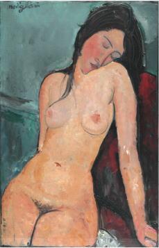 アメデオ・モディリアーニ「裸婦」