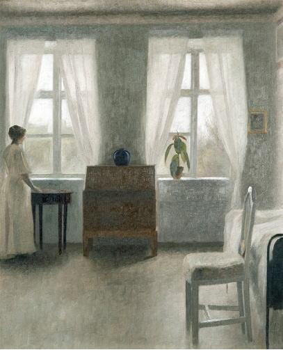 ヴィルヘルム・ハマスホイ 寝室