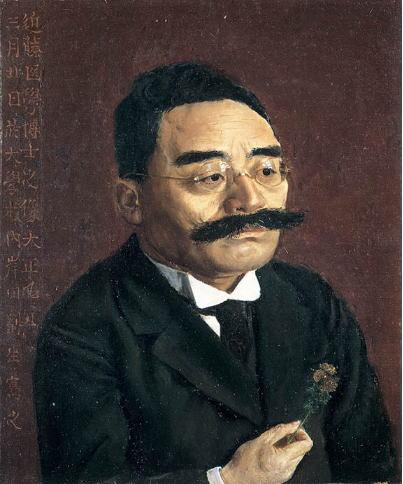 岸田劉生 近藤医学博士之像