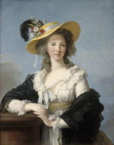 エリザベト=ルイーズ・ヴィジェ・ルブラン「ポリニャック公爵夫人」