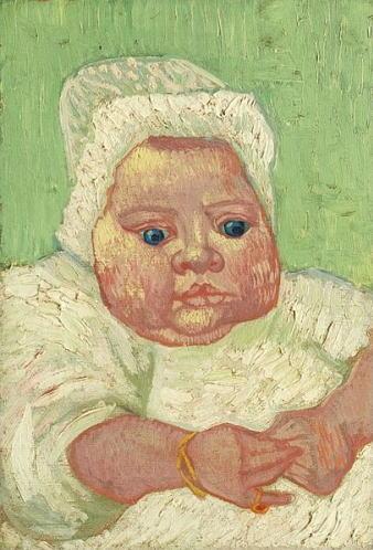 フィンセント・ファン・ゴッホ「マルセル・ルーランの肖像」