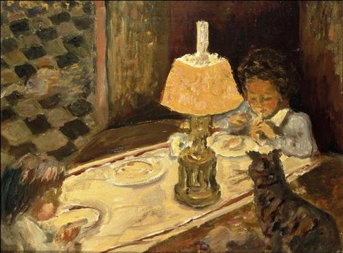 ピエール・ボナール「子どもたちの昼食」