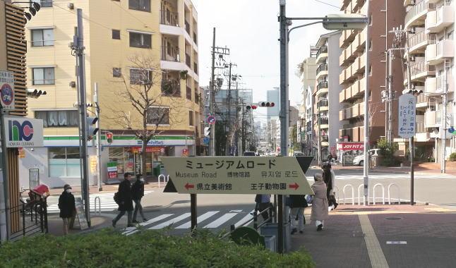 阪神岩屋駅前 ミュージアムロード