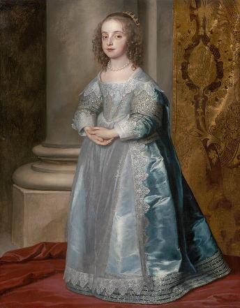 アンソニー・ヴァン・ダイク「メアリー王女、チャールズ1世の娘」