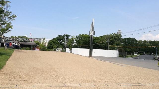 大阪市立美術館アクセス 天王寺動物園 右に進む
