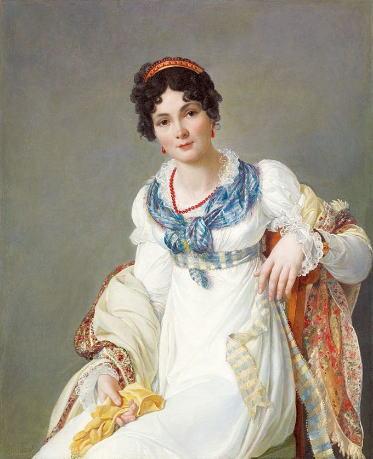 フランソワ=アンリ・ミュラール「女の肖像」