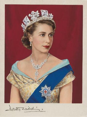 エリザベス2世のポートレート