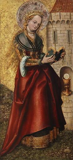 ルーカス・クラーナハ(父)「聖バルバラ」