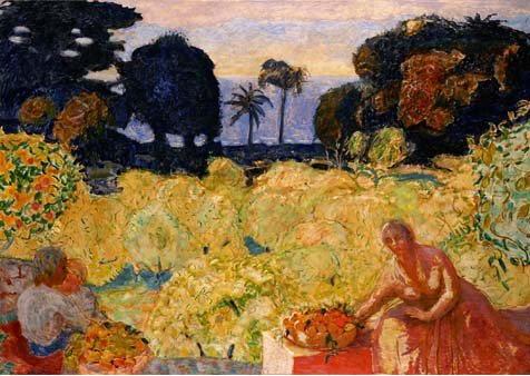 ピエール・ボナール「地中海の庭」