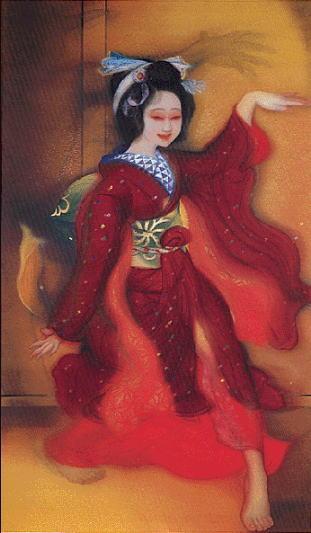 甲斐庄楠音「幻覚(踊る女)」