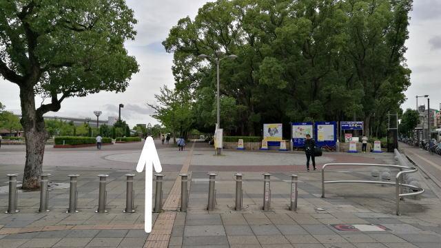 長居公園 大阪自然史博物館アクセス