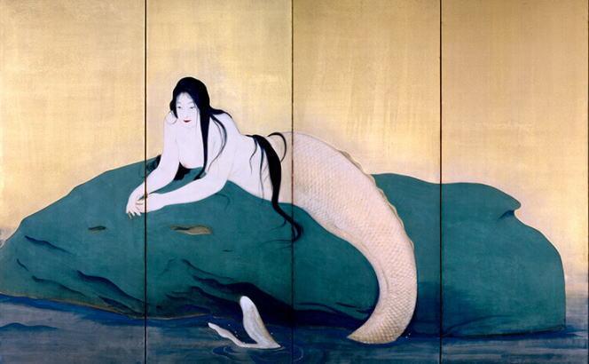 鏑木清方「妖魚」