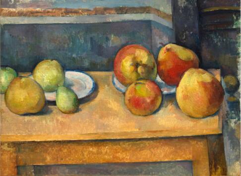 ポール・セザンヌ 「リンゴと洋ナシのある静物」