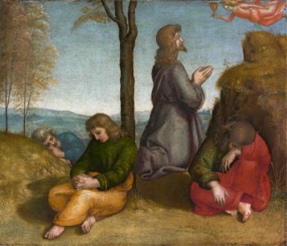 ラファエロ・サンツィオ「ゲッセマネの祈り」