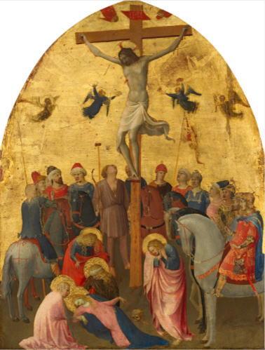 フラ・アンジェリコ「キリストの磔刑」